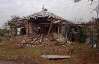 При обстреле Станицы Луганской уничтожен дом