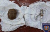 Житель Одесской области развесил на заборе гранаты и угрожал их взорвать