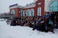 В Харькове, Львове и Краматорске 660 человек одновременно исполнили колядку