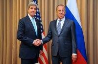 Керри обсудил с Лавровым ситуацию в Украине и Сирии