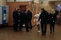 В киевском метро подстрелили полицейского (обновлено)