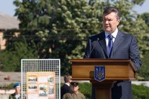 Янукович готов укреплять дружеские отношения с Люксембургом