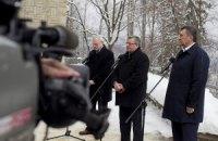Февраль 2013 года, рабочий визит Президента Украины в город Висла, Польша