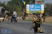 Боевики обстреляли блокпосты в Марьинке, есть раненые