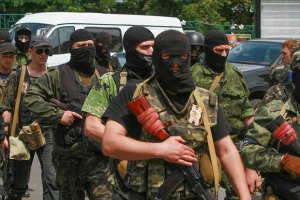 Ночью по всему Донецку были слышны выстрелы