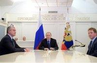 Путин дал старт поставкам газа в Крым из России