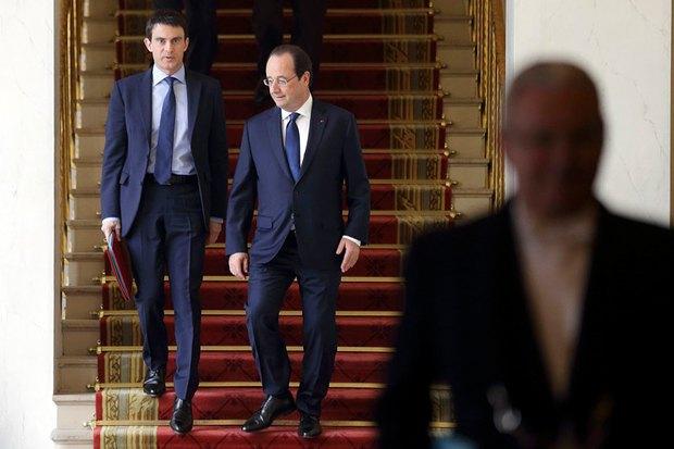 Франсуа Олланд та Мануєль Вальс