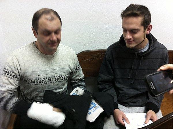 Геннадий Черевко и Николай Лазаревский в суде