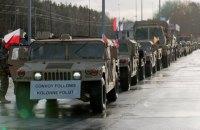 В Польшу прибыла танковая бригада США