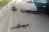 В Харькове военнослужащий открыл огонь из автомата в такси (обновлено)