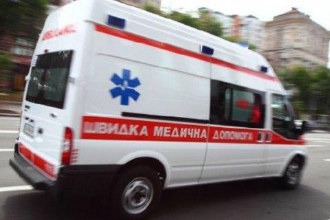 ВХмельницком на8-летнего ребенка упала бетонная плита