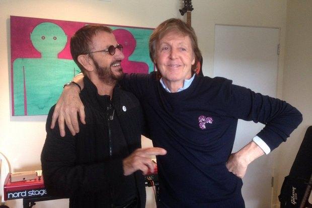 Пол Маккартні і Рінго Старр уперше з 2010 року разом запишуть пісню (фото)