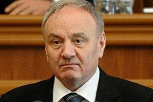 Президент Молдовы приземлился в Украине