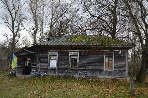 Избирательный участок в селе Малое Устье в старой хате фельдшера