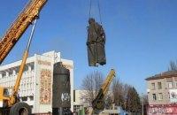 В Днепродзержинске демонтировали памятник Дзержинскому