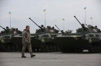 Порошенко передал военным 150 единиц военной техники