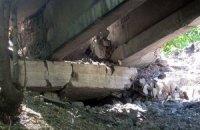 В Донецкой области подорвали путепровод (обновлено)