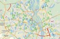 Власти Киева выложили в интернет карту ремонта дорог
