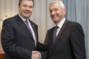 Янукович поблагодарил СЕ за содействие в преодолении кризиса в Украине