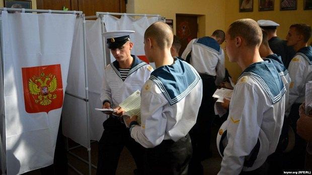 Выборы в Госдуму РФ в Севастополе 18 сентября 2016 года