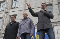 Кличко пообещал харьковчанам не допустить референдума по сценарию власти