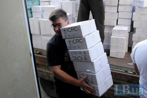 Порошенко подсчитал объем международной гуманитарной помощи