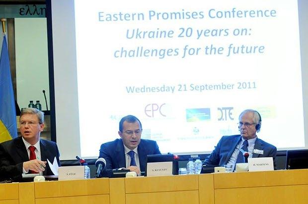 Клюев бросил все силы на подписание соглашения о Зоне свободной торговли с ЕС