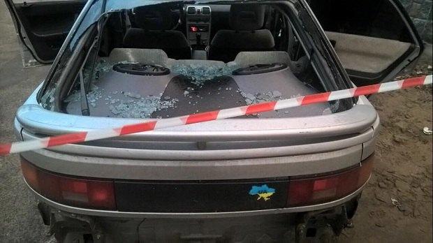 Під Києвом патрульні зі стріляниною затримали нетверезого лихача без прав