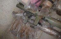 В пригороде Днепра нашли тайник с арсеналом оружия