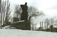 В Москве демонтировали памятник Шевченко