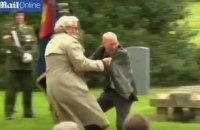 Посол Канади в Ірландії застосував навички охоронця