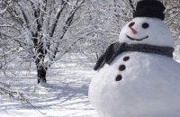 В Германии машинист экстренно остановил поезд из-за снеговика на ж/д путях