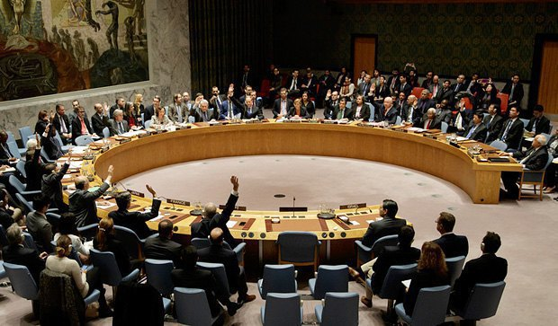 The vote of the UN Security Council on Israel, 23 December 2016