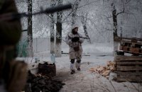 One Ukrainian serviceman wounded in east on 11 Jan