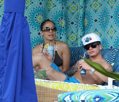 Недавно Джей Ло отдохнула с молодым любовником на Гавайях