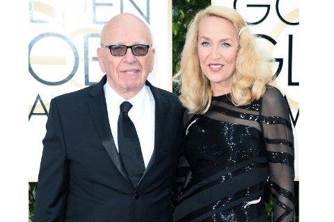 Медиамагнат Руперт Мердок женится на супермодели 70-х Джерри Холл