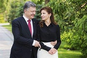 Президент Украины показал трогательное фото с женой