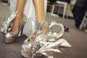 Ева Бушмина похвасталась необычной обувью