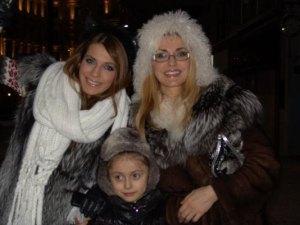 Ольга Сумская с дочерьми