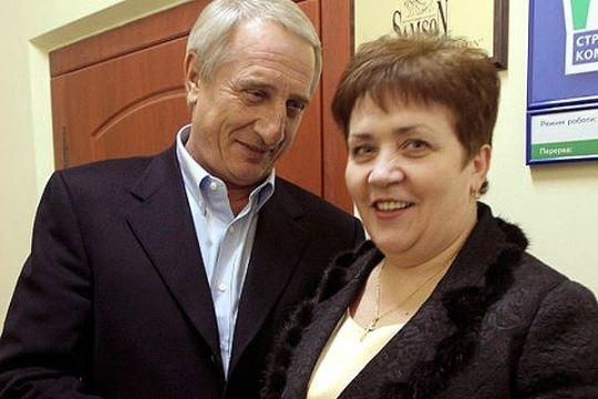 Валентина Семенюк с мужем Виталием Самсоненко