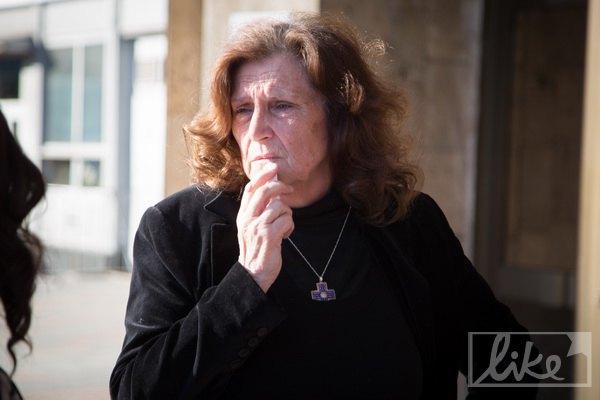 Ольга Михайлівна в перші дні по загибелі сина