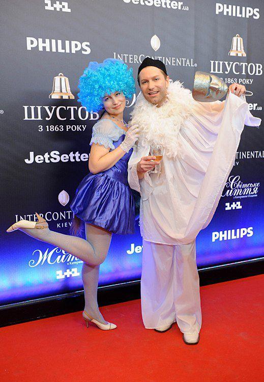 Лада Лузина и Андрей Кравчук