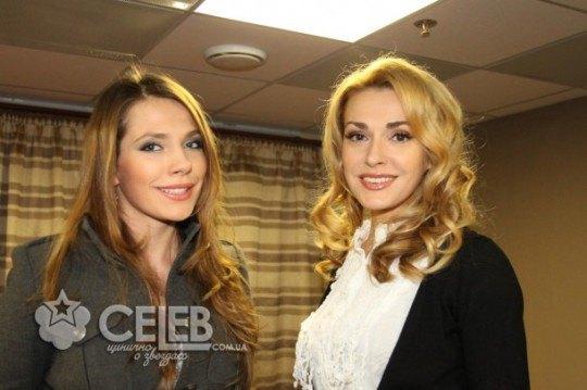 Ольга Сумская со старшей дочерью Антониной