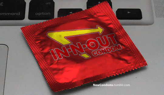In-N-Out Burger превратился в In-N-Out Condom.