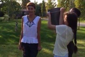 Ice Bucket Challenge: Семья Порошенко облилась ледяной водой