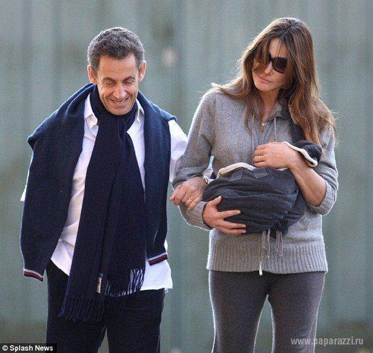 У президента Франции Николя Саркози родилась дочь