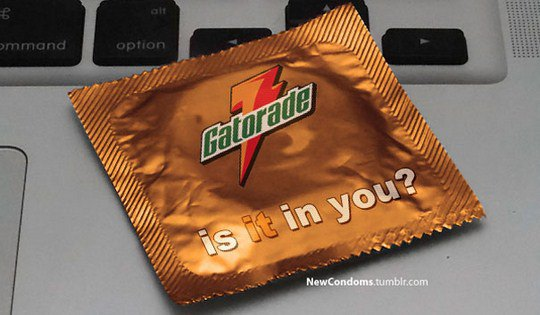 Gatorade. Он в тебе?
