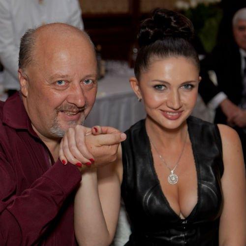 Композитор, поэт и исполнитель Андрей Миколайчук и Алеся Бацман