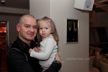 Евгений Кошевой с дочкой