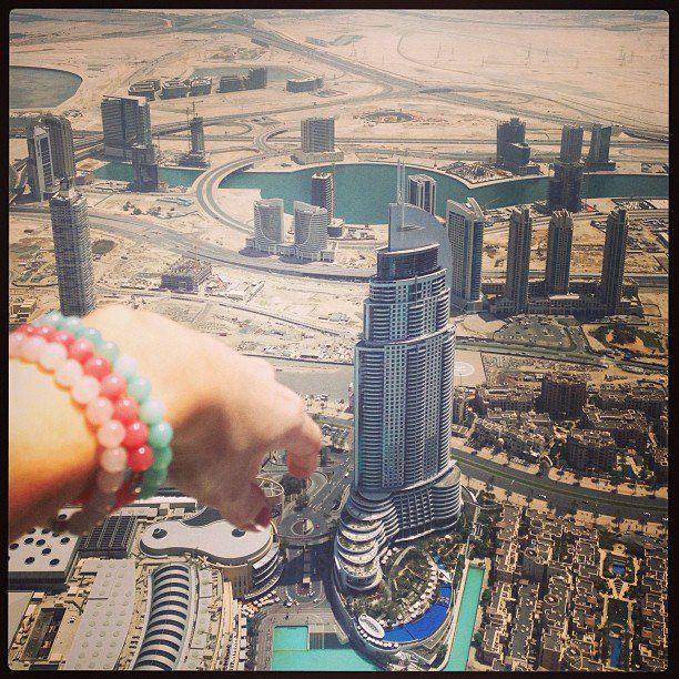 В апреле Анастасия посетила Таиланд и Дубаи